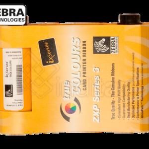 RIBBON COLOR YMCKO ZEBRA ZXP SERIE 3 (200 IMP.)