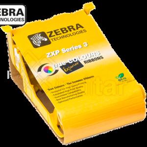 RIBBON COLOR YMCKO ZEBRA ZXP SERIE 3 (280 IMP.)
