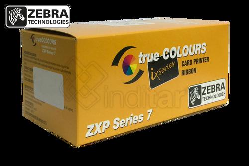 RIBBON COLOR YMCKO ZEBRA ZXP SERIE 7 (750 IMP.)