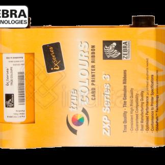 RIBBON COLOR 1/2 PANEL YMC+PANEL COMPLETO KO ZEBRA ZXP SERIE 3 (400 I)