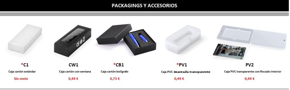 packaging usb personalizado