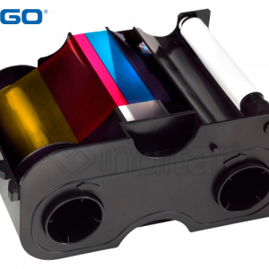 RIBBON COLOR YMCKO FARGO DTC1000, 1250E