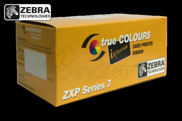 RIBBON MONOCROMO NEGRO ZEBRA ZXP SERIE 7 (2500 IMP.)
