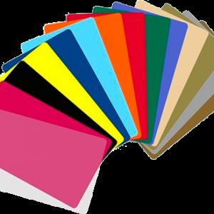 Tarjetas Pvc de Color para Imprimir