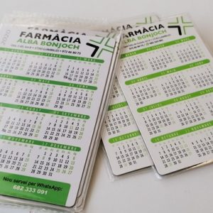 Calendario farmacia iman nevera