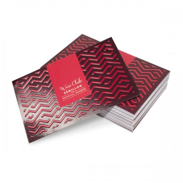 Tarjetas de visita papel Barniz 3D 8,5*5,5cm