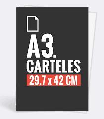 Cartel vertical-A3-29,7 x 42cm-250gr