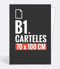 Cartel vertical-B1-70 x 100cm 250gr