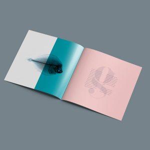 Diptico en papel-cuadrado-21 x 21cm