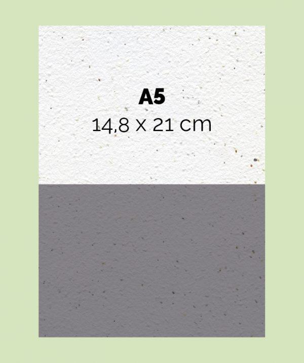 Diptico en papel-horizontal-Din A5-21 x 14,8cm-300