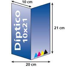 Diptico en papel-vertical-10 x 21cm-300