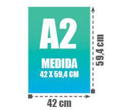 Medidas: 42*59,4cm. 130gr